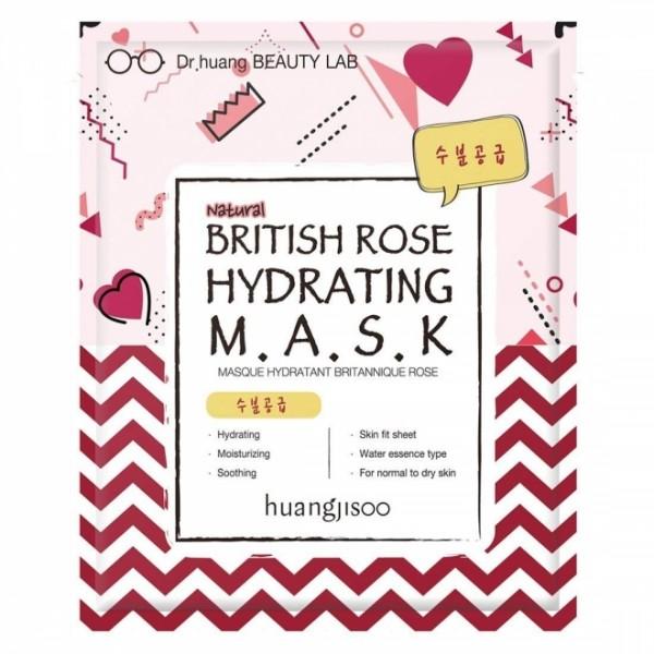 Masca hidratanta de tip servetel cu trandafir engl...