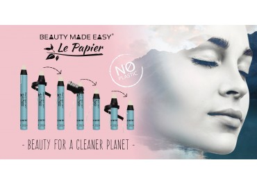 Beauty for a cleaner Planet - Le Papier