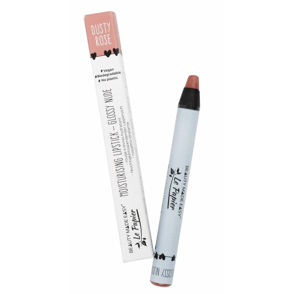 Creion - ruj hidratant GLOSSY NUDE-DUSTY ROSE  zer...
