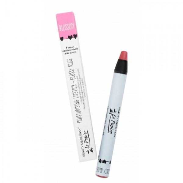 Creion - ruj hidratant GLOSSY NUDE-BLOSSOM zero pl...