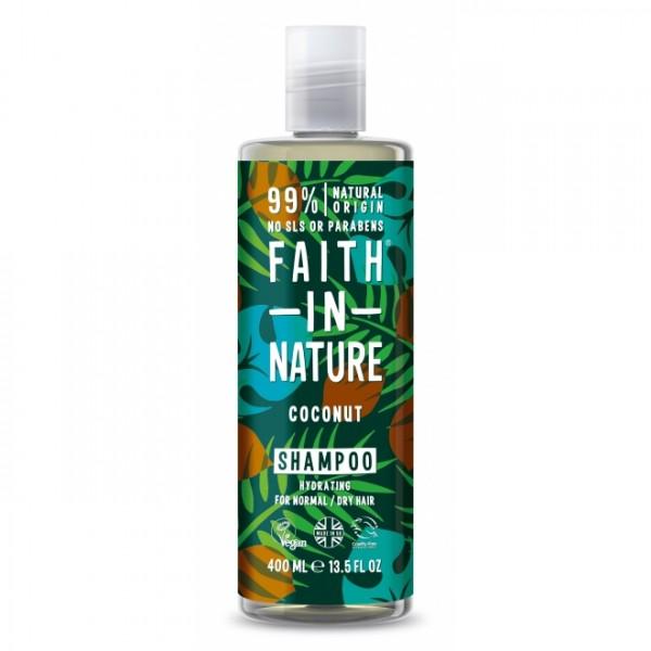 Sampon cu cocos pentru par normal sau uscat Faith ...
