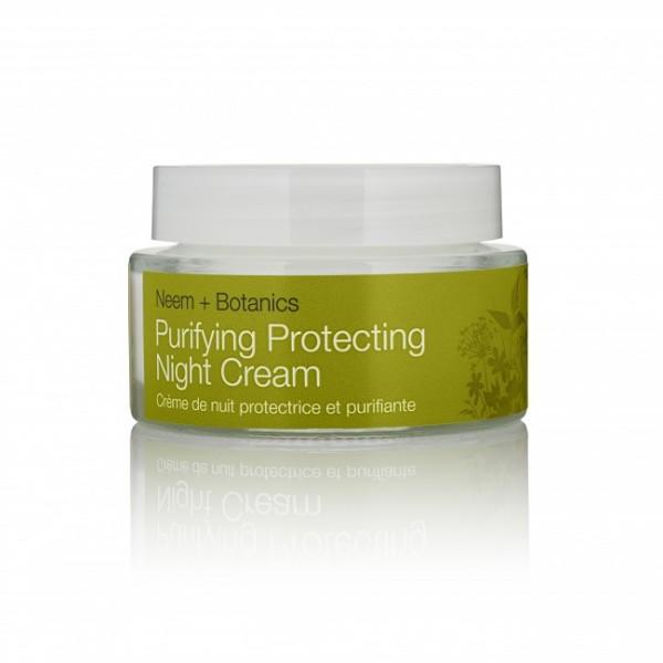Purifying Protecting Night Cream Urban Veda - Crema de noapte protectoare 50 ml  Hidratare Ten Urban Veda