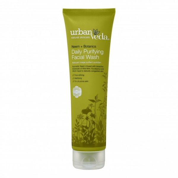 Purifying Daily Facial Wash Urban Veda - Gel de curatare pentru fata Purifying 150 ml  Curățare și Tonifiere Urban Veda