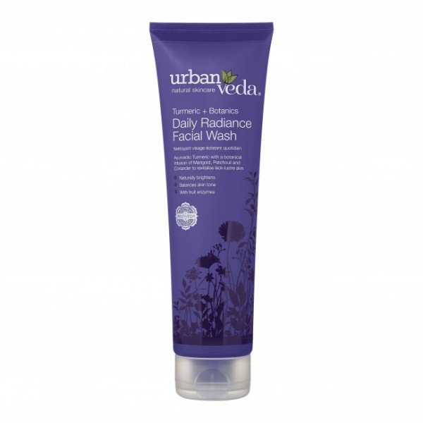 Radiance Daily Facial Wash Urban Veda - Gel de spa...
