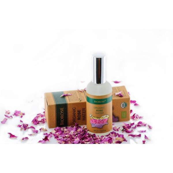 Apa florala organica de trandafiri Biorose 100 ml