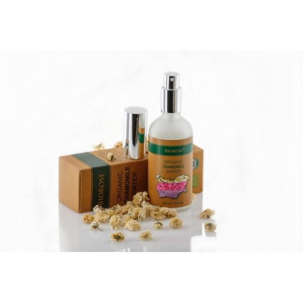 Apa florala organica de musetel Biorose 100 ml