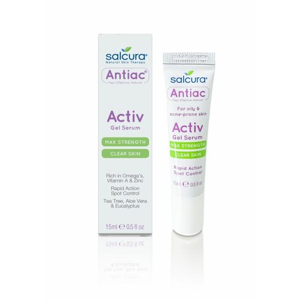 Gel tratament acnee si pete pigmentate pentru fata si corp Salcura Antiac 15 ml  Curățare și Tonifiere Salcura Natural Skin Therapy