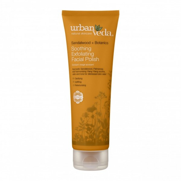 Soothing Exfoliating Facial Polish Urban Veda - Exfoliant pentru curatare faciala Soothing 125 ml  Curățare și Tonifiere Urban Veda