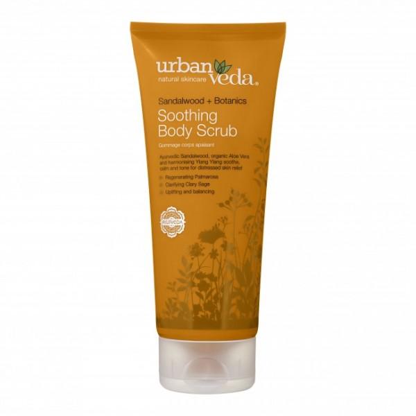 Soothing Body Scrub Urban Veda- Exfoliant pentru c...