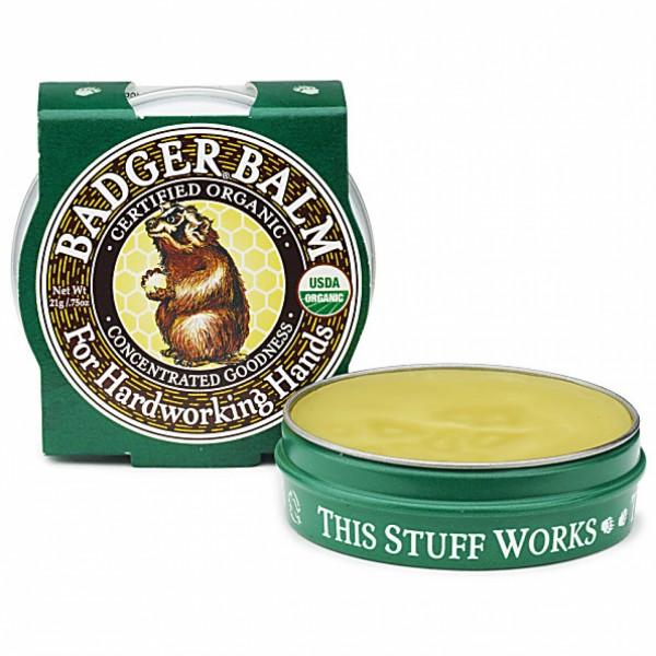 Mini balsam pentru maini crapate si muncite 21 g Badger  Mâini și Picioare Badger