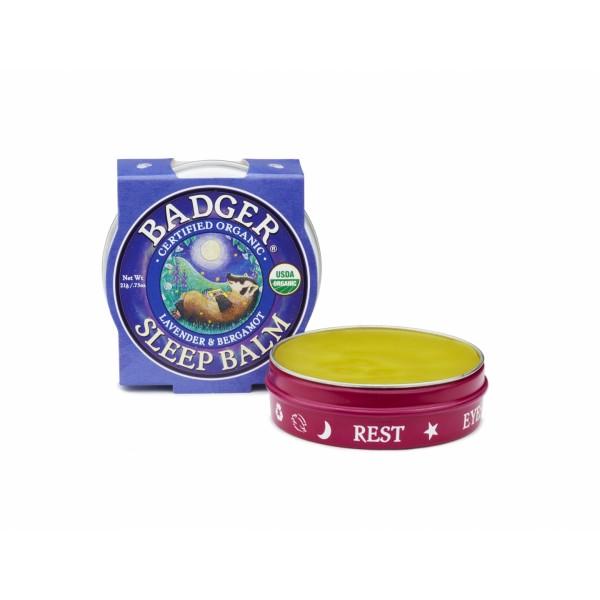 Mini balsam pentru un somn linistit Sleep Balm 21 g Badger  Accesorii Bio Badger