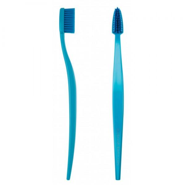 Periuță de dinți organică medium-soft - ALBAST...
