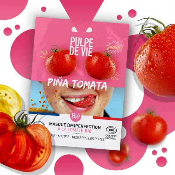 Mască pentru imperfecțiuni Piña Tomata Pulpe de...