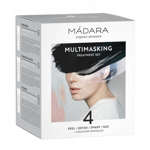 Multimasking Set - 4 măști tratament + 2 Booster...