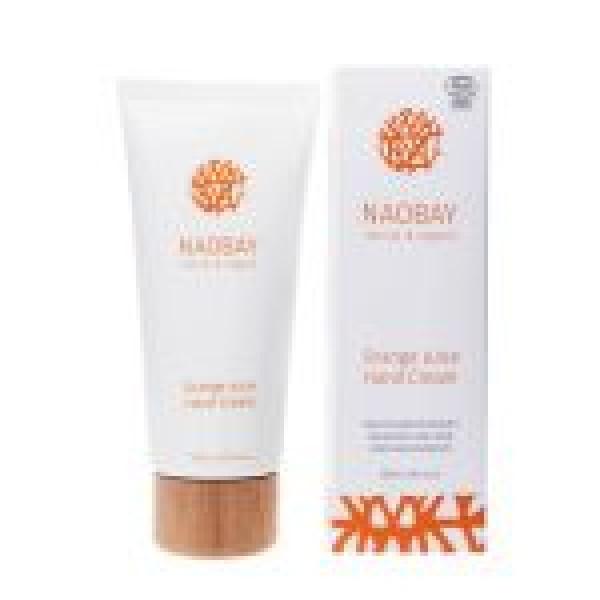 Crema de maini BIO hidratanta si revitalizanta cu extract de portocale Orange Juice, Naobay, 100 ml  Mâini și Picioare Naobay