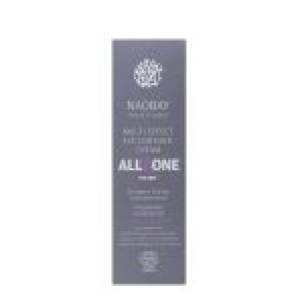 Crema contur de ochi BIO revitalizanta cu acid hialuronic pentru barbati, All In One, Naobay, 15 ml  Îngrijire Ten Bio Naobay