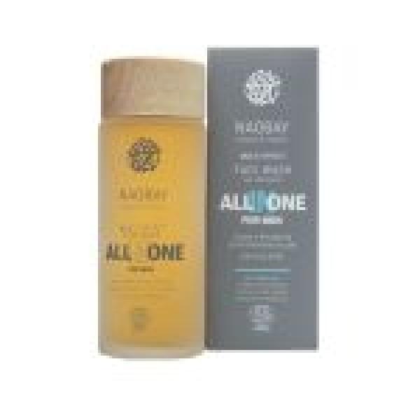 Lotiune de curatare faciala BIO hidratanta cu extract de cafea pentru barbati, All In One, Naobay, 100 ml  Îngrijire Ten Bio Naobay
