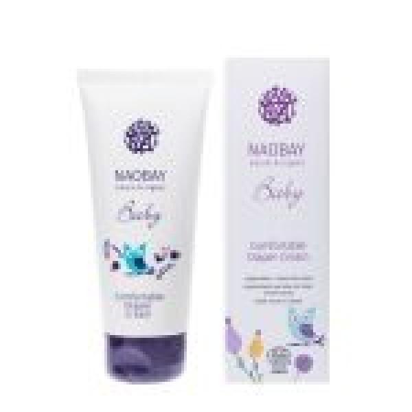 Crema organica emolienta impotriva iritatiei de scutec, Naobay, 100 ml  Îngrijire Naturală Copii Naobay