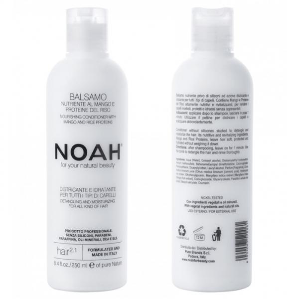 Balsam natural nutritiv si hidratant cu mango (2.1) Noah 250 ml  Balsam NOAH