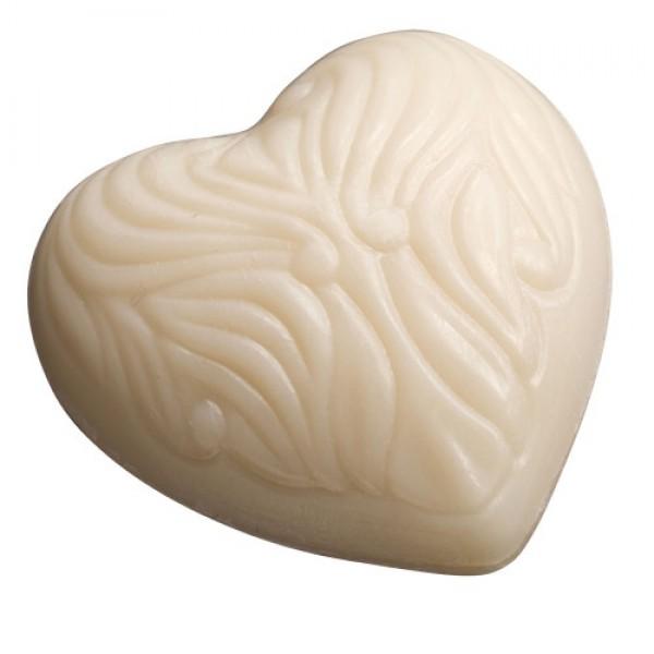 Inimioară - săpun cremos cu lapte de oaie  65g Saling  Săpunuri Naturale SALING NATURPRODUKTE