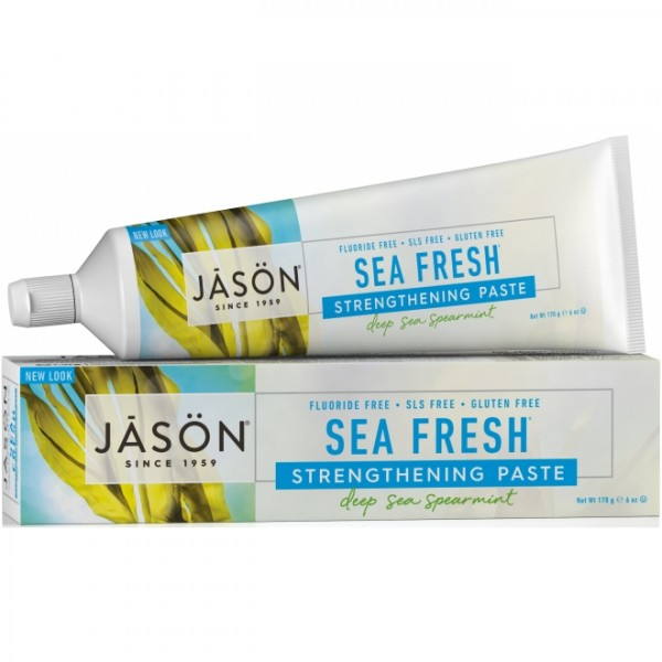 Pasta de dinti Sea Fresh,Intarirea Dintilor Jason