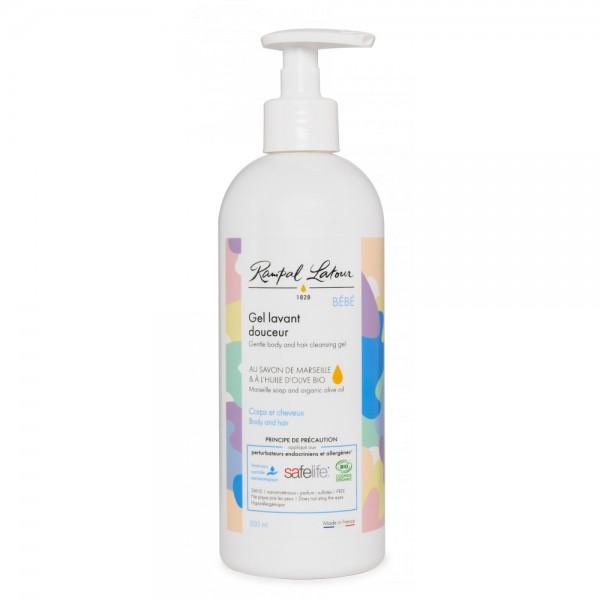 Gel bio de curățare și șampon delicat BABY 500...