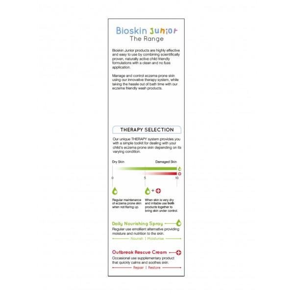 Sampon pentru bebelusi si copii scalp uscat cu eczeme si coji Salcura Bioskin Junior 200 ml  Îngrijire Naturală Copii Salcura Natural Skin Therapy