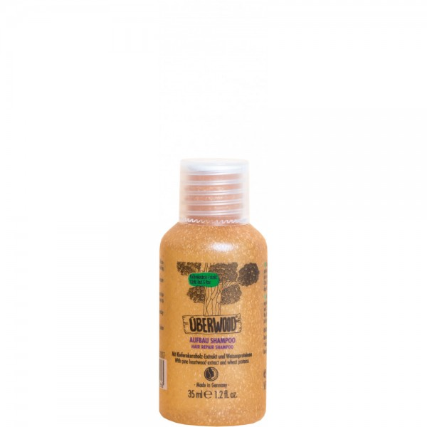 Șampon HAIR REPAIR pentru păr normal sau deteriorat - TRAVEL 35ml ÜBERWOOD  Șampon Uberwood