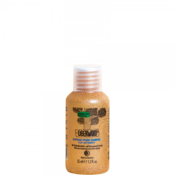 Șampon SCALP CARE pentru scalp sensibil - TRAVEL 35ml ÜBERWOOD  Șampon Uberwood