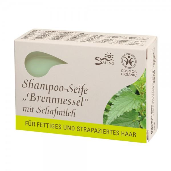 Șampon solid cu lapte de oaie și urzică (păr g...