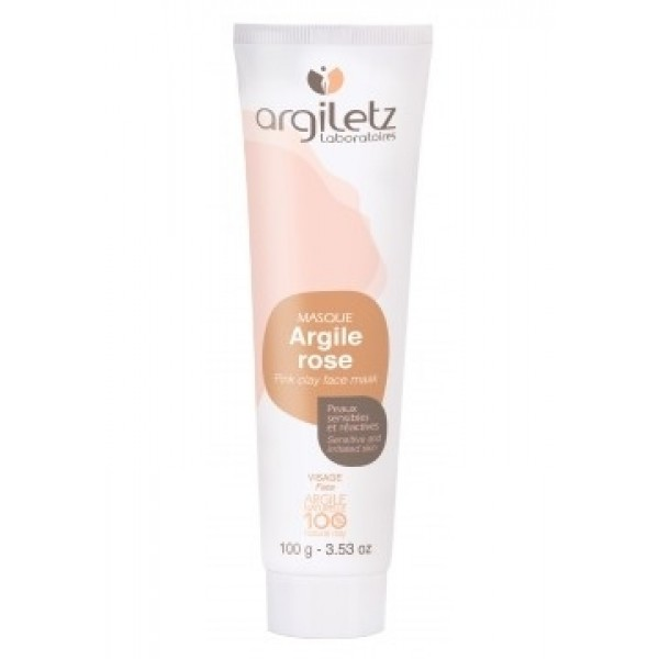 Masca naturala din argila roz ready-to-use pentru ten sensibil Argiletz 100g  Curățare și Tonifiere Argiletz Laboratoire