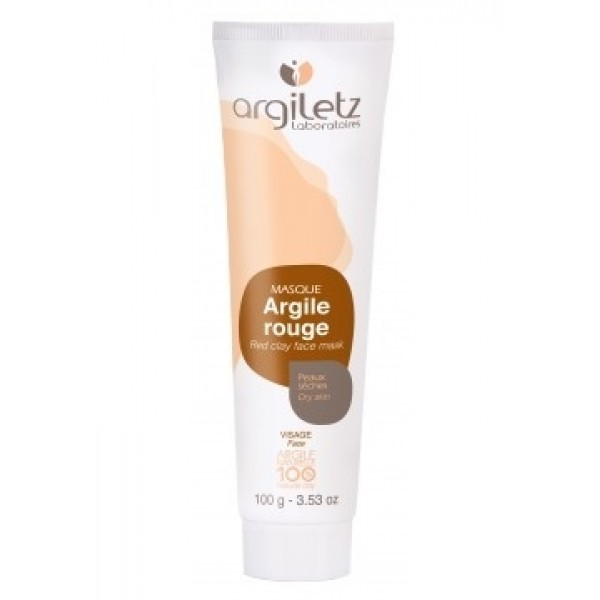 Masca naturala din argila rosie ready-to-use pentr...