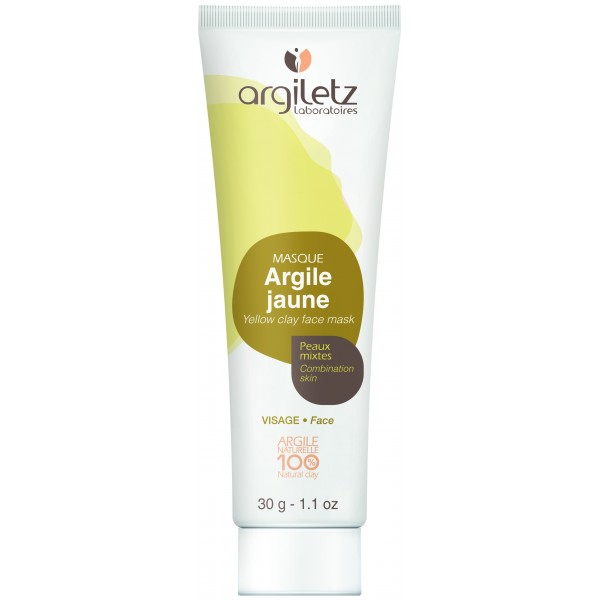 Mini Masca naturala din argila galbena ready-to-use pentru ten mixt Argiletz 30g  Curățare și Tonifiere Argiletz Laboratoire
