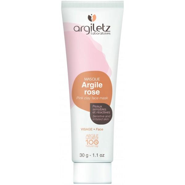Mini Masca naturala din argila roz ready-to-use pentru ten sensibil Argiletz 30g  Curățare și Tonifiere Argiletz Laboratoire