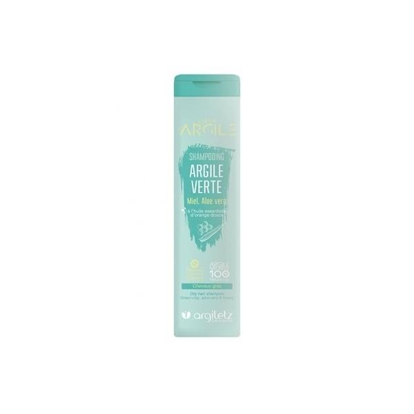 Sampon cu argila verde si miere pentru par gras Argiletz 200ml  Șampon Argiletz Laboratoire