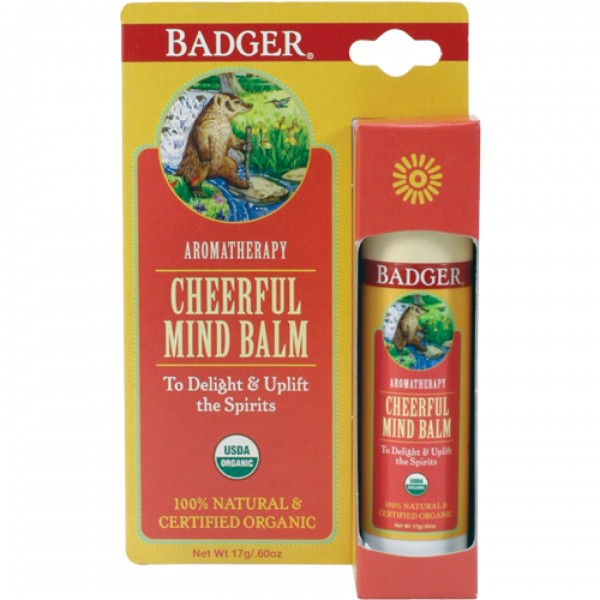 Balsam aromaterapie Cheerful Mind 17 g Badger