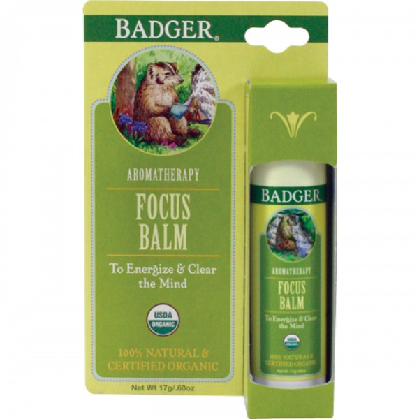 Balsam aromaterapie Focus Mind 17 g Badger
