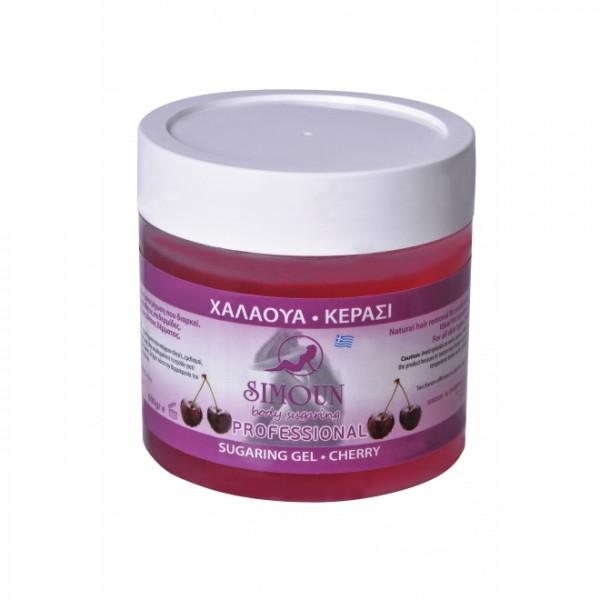 Ceara depilatoare naturala de zahar Cirese Gel 600 g Simoun  Epilare Naturală Simoun