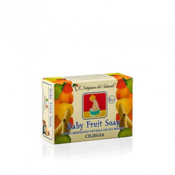 Sapun natural Cherry Laboratorio Naturale pentru c...