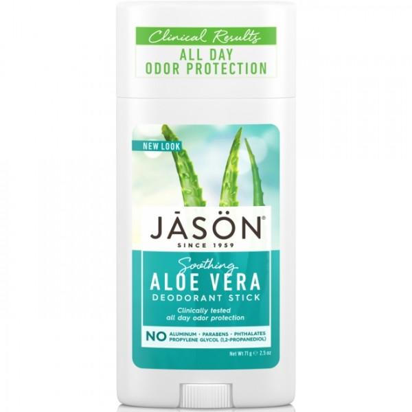 Deodorant stick cu aloe vera Jason 71g  Deodorante Naturale Jason
