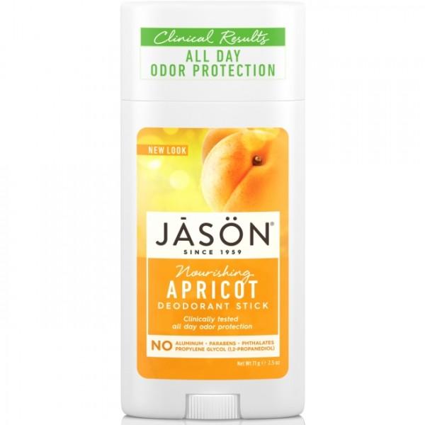 Deodorant stick cu caise Jason 71g