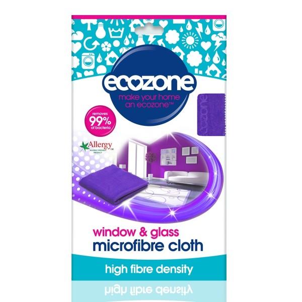 Laveta din microfibra pentru sticla si geamuri Ecozone 1 buc  Accesorii Bio Ecozone