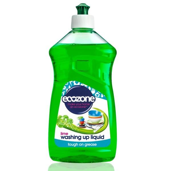 Solutie cu lime pentru spalat vase Ecozone 500 ml
