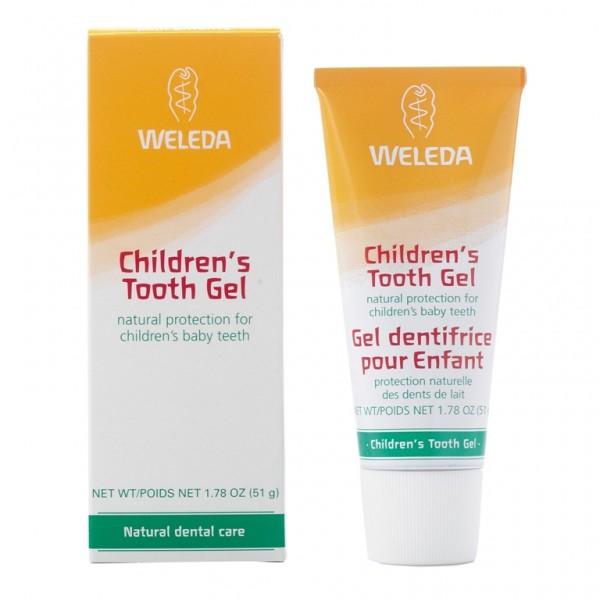Gel de dinţi pentru copii Weleda