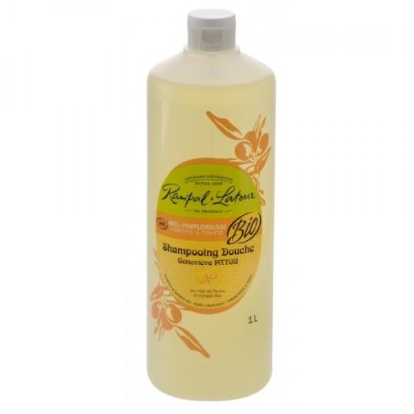 Gel de duş & şampon bio miere grapefruit 100...