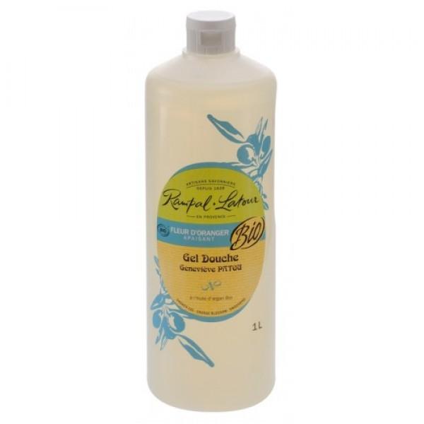 Gel de duş bio flori de portocal 1000 ml Rampal L...