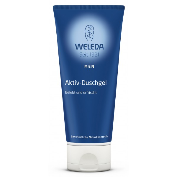 MEN Gel de duş revigorant WELEDA