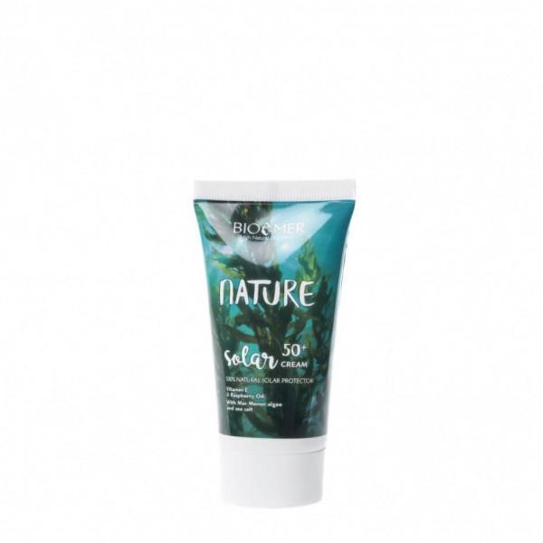 Crema faciala de protectie solara SPF 50+, Nature ...