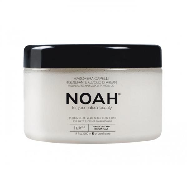 Masca regeneranta cu ulei de argan pentru par foarte uscat(2.3) Noah 200 ml  Balsam NOAH