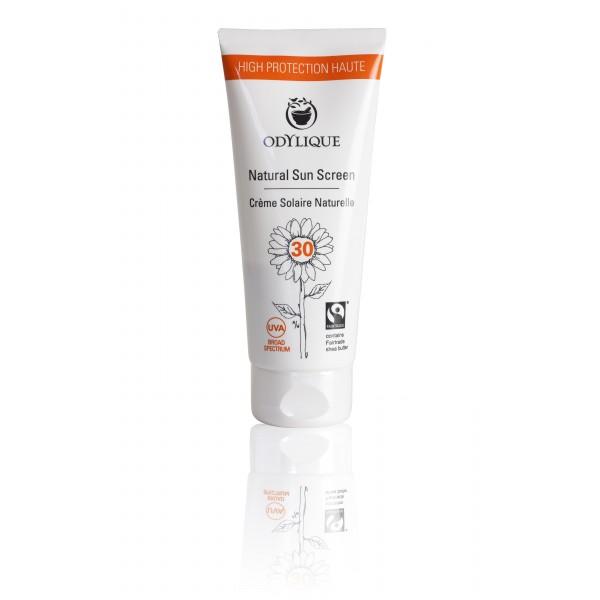 Crema bio protectie solara Odylique SPF 30 cu muse...